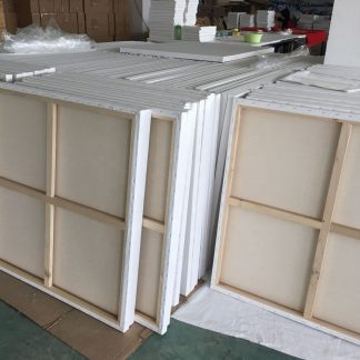 Canvases and stretcher frames